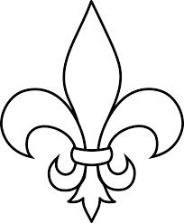 Iris lily fleur de lys symbols - Fleur de lys symbole ...